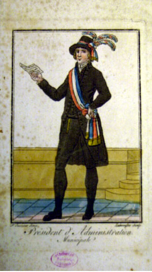 1795 Maire costume