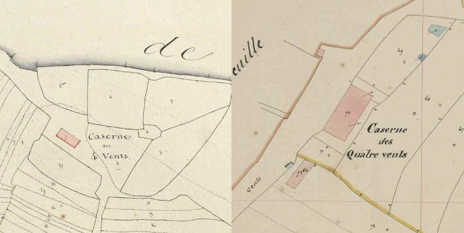 Quatre Vents 1810 1844