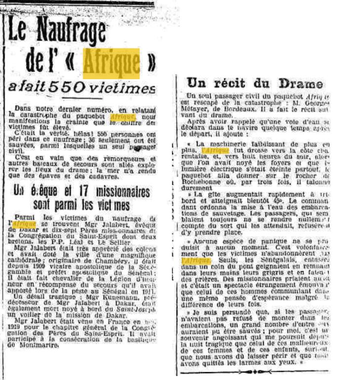 LE FRANC Naugrafe Afrique Presse